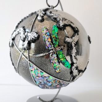 Bombka lustrzana akrylowa z ważką