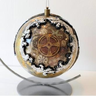 Bombka akrylowa z zegarem