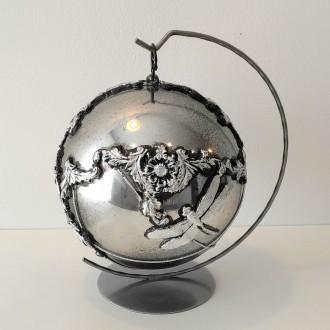 Bombka akrylowa glamour z ważką