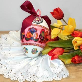 Folklorowe jajo