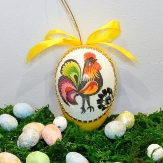 Jajo z kurkami