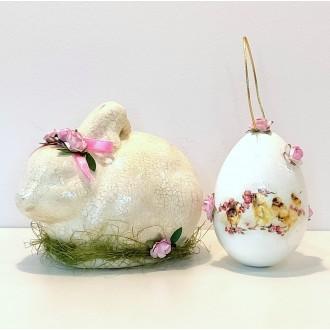 Zestaw - króliczek i jajo