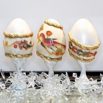 Komplet jaj z orientalnym motywem