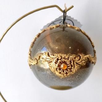 Bombka akrylowa glamour złota