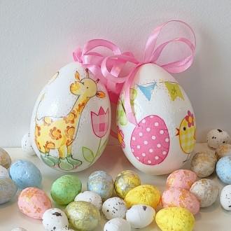 Komplet jajeczek dla dziewczynki
