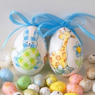 Komplet jajeczek dla chłopca